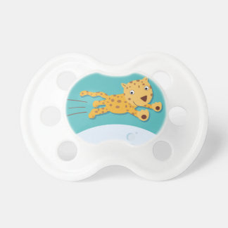 Leopard Jungle Animal Pacifier Dummies