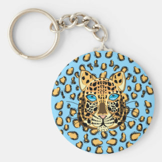 Leopard Key Ring