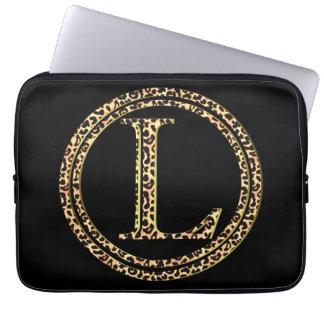 leopard L Laptop Sleeve