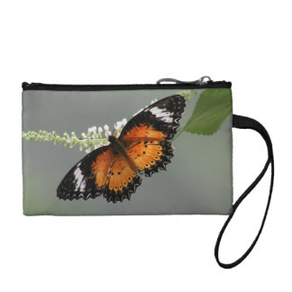 Leopard Lacewing key/coin purse