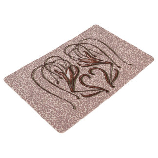 Leopard Lily Floor Mat