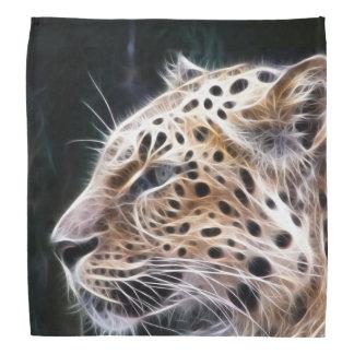 Leopard lines,Leopard painting Head Kerchiefs