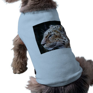 Leopard lines,Leopard painting Sleeveless Dog Shirt
