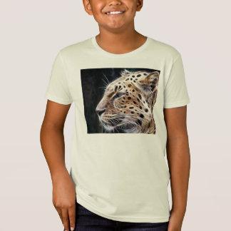 Leopard lines,Leopard painting T-Shirt