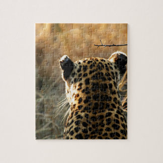 Leopard Looking Off Into Distance Jigsaw Puzzle
