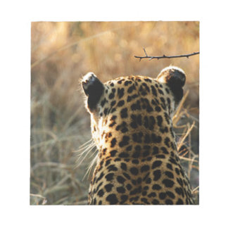 Leopard Looking Off Into Distance Notepad