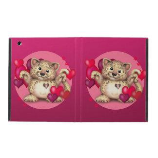 LEOPARD LOVE  iPad 2/3/4 Cases For iPad