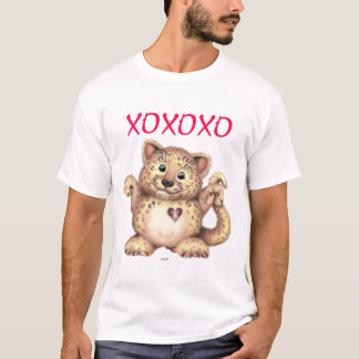 LEOPARD LOVE Men's Men's Basic T-Shirt