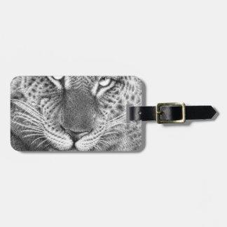 Leopard Luggage Tag
