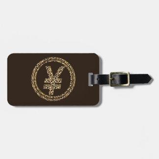 Leopard ¥ luggage tag