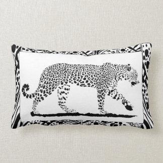 Leopard lumber cushion. lumbar cushion