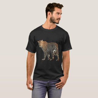 Leopard Men's Basic Dark T-Shirt