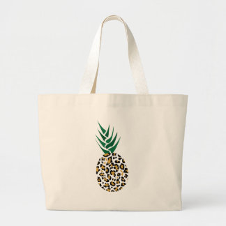 Leopard or Pineapple? Funny illusion picture Jumbo Tote Bag