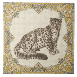 Leopard, Panther Tile Decorative Home Decor Gift