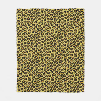Leopard Pattern Fleece Blanket