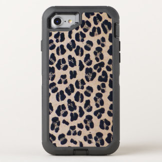 leopard pattern OtterBox defender iPhone 7 case