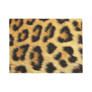 Leopard Pattern Print Design Doormat