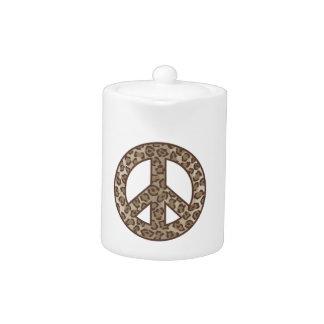 Leopard Peace Symbol