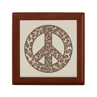 Leopard Peace Symbol Gift Box