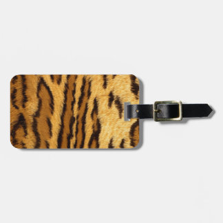 Leopard Pint exotic animal Bag Tag