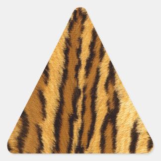 Leopard Pint exotic animal Triangle Sticker