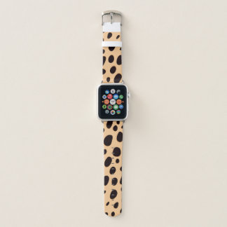 Leopard Polka Dots Apple Watch Band