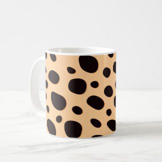 Leopard Polka Dots Coffee Mug