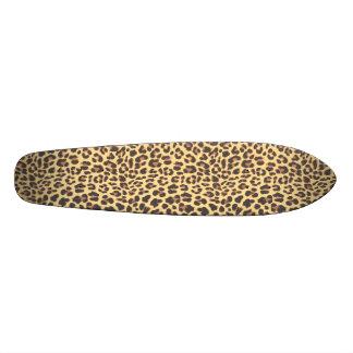 Leopard Print Animal Skin Pattern 21.6 Cm Skateboard Deck