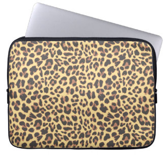 Leopard Print Animal Skin Pattern Laptop Sleeve