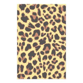 Leopard Print Animal Skin Patterns 14 Cm X 21.5 Cm Flyer