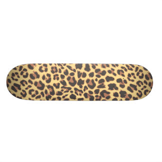 Leopard Print Animal Skin Patterns 20.6 Cm Skateboard Deck