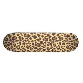 Leopard Print Animal Skin Patterns 20 Cm Skateboard Deck