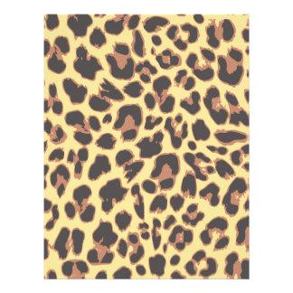 Leopard Print Animal Skin Patterns 21.5 Cm X 28 Cm Flyer