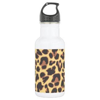 Leopard Print Animal Skin Patterns 532 Ml Water Bottle
