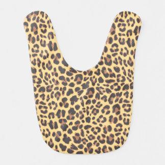 Leopard Print Animal Skin Patterns Bibs