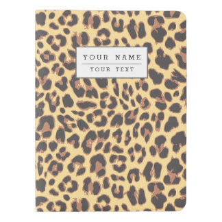 Leopard Print Animal Skin Patterns Extra Large Moleskine Notebook
