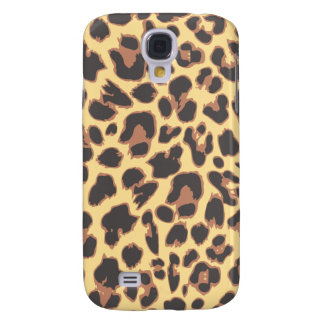 Leopard Print Animal Skin Patterns Galaxy S4 Covers