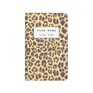 Leopard Print Animal Skin Patterns Journal