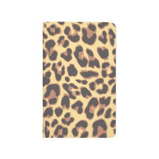 Leopard Print Animal Skin Patterns Journal