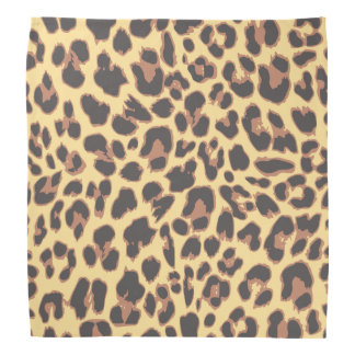 Leopard Print Animal Skin Patterns Kerchief