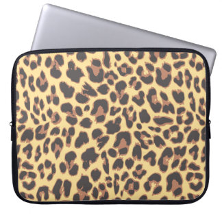 Leopard Print Animal Skin Patterns Laptop Computer Sleeve