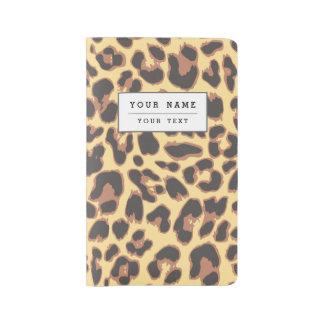 Leopard Print Animal Skin Patterns Large Moleskine Notebook
