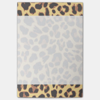 Leopard Print Animal Skin Patterns Post-it Notes