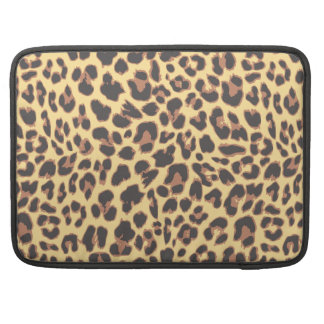 Leopard Print Animal Skin Patterns Sleeve For MacBook Pro