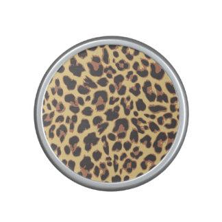 Leopard Print Animal Skin Patterns Speaker