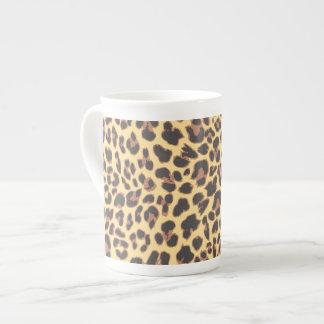 Leopard Print Animal Skin Patterns Tea Cup