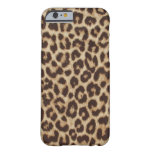 Leopard Print Apple iPhone 6 Case Barely There iPhone 6 Case