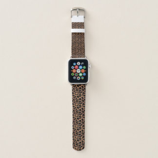 Leopard Print Apple Watch Band