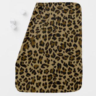 Leopard Print Baby Blanket