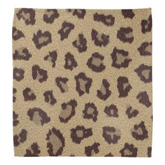 Leopard Print Bandanna
